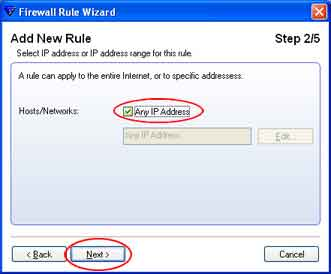 Configuring F-Secure Internet Security Firewall