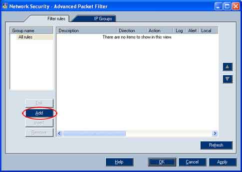 Here is how to configure your Kerio Personal Firewall for the SPAMfighter Server