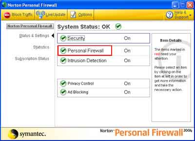 faq, firewall, norton
