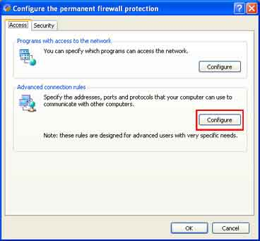 Here is how to configure your Panda Titanium Uknown Threats Firewall for the SPAMfighter Server