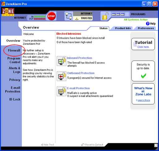 Configure,  Zone Alarm Firewall, Spamfighter,    spam,    download,    tool,    filters,    outlook,    e-mail,    email