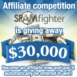 Affiliate Contest - SPAMfighter is giving away $30,000!