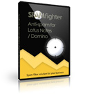 SPAMfighter is the best anti spam filter for Lotus Domino Mail Server and Lotus Notes.