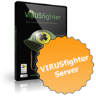 <strong>VIRUSfighter Server </strong>will protect your Microsoft Windows Server from the latest and legacy threats, including spyware, Trojans, rootkits and other malware, protecting your valuable programs and data.
