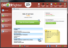 DRIVERfighter updates all your drivers on your computer with a single click!