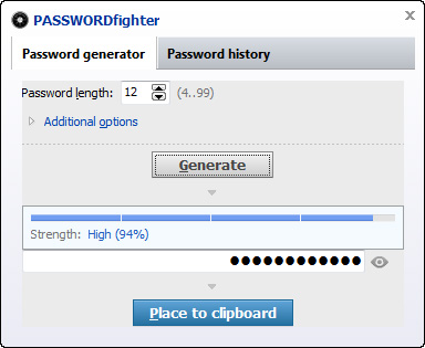 PASSWORDfighter Screenshot