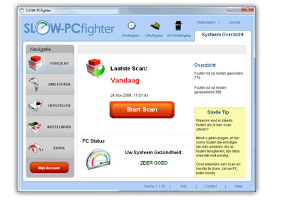 Download SLOW-PCfighter en repareer uw computer