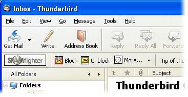 Bebas Spam Filter for Mozilla Thunderbird