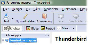 Gratis Spam Filter til Mozilla Thunderbird