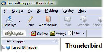 Gratis anti spam filter for Mozilla Thunderbird