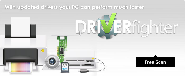 Download your new driver updates with DRIVERfighter