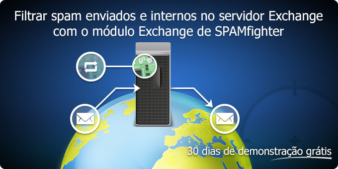 Filtrar spam enviados e internos no servidor Exchange com o módulo Exchange de SPAMfighter