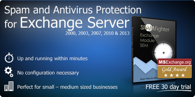 Exchange Spam Filter and Antivirus for MS Exchange Server 2013, 2010, 2007, 2003 and 2000