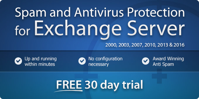 Exchange Spam Filter and Antivirus for MS Exchange Server