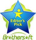 SPAMfighter was named Editors pick by Brothersoft - a top download site.