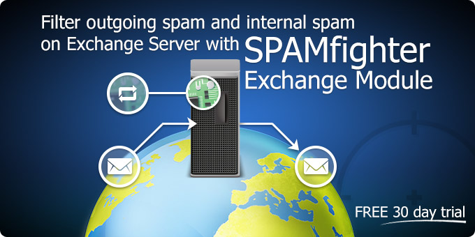 Filter outgoing spam and internal spam on Exchange Server with SPAMfighter Exchange Module