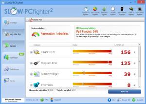 Langsom PC? Optimer en langsom PC og få en hurtigere PC - SLOW-PCfighter