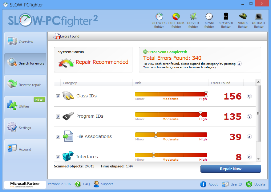 Slow PC? Get a FREE Slow PC Optimization Scan right Here